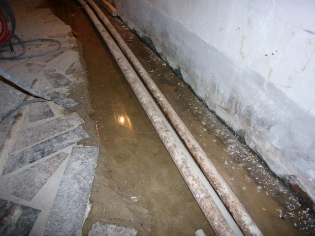 Подсобное помещение до ремонта